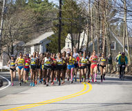 The Boston Marathon 2016 Royalty Free Stock Photography
