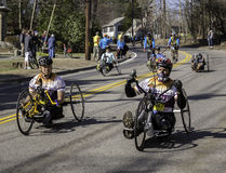 Boston Marathon 2014 Stock Photos