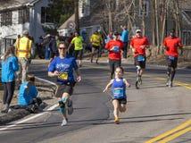 Boston Marathon 2014 Royalty Free Stock Photos