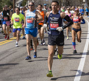 The Boston Marathon 2014 Royalty Free Stock Photography