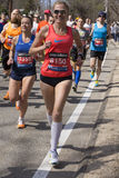 The Boston Marathon 2014 Royalty Free Stock Images
