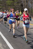 The Boston Marathon 2014 Stock Photography