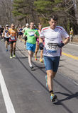 The Boston Marathon 2014 Stock Image