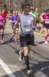 The Boston Marathon 2014 Stock Photo