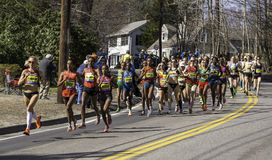Boston Marathon 2014 Stock Photo