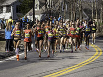 Boston Marathon 2014 Stock Images