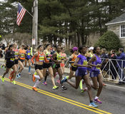Boston Marathon 2015 Stock Images