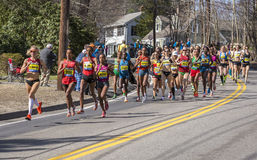 The Boston Marathon 2014 Stock Images