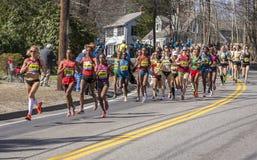 The Boston Marathon 2014 Stock Images