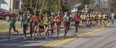 The Boston Marathon 2014 Royalty Free Stock Image