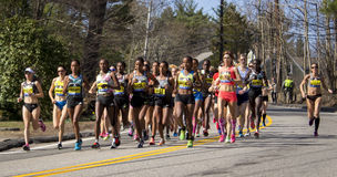Boston Marathon 2016 Royalty Free Stock Images