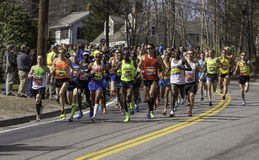 Boston Marathon 2014 Royalty Free Stock Photos