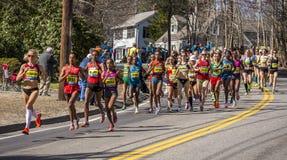 The Boston Marathon 2014 Stock Photography