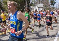 Boston Marathon 2014 in Massachusetts, USA. Stock Photo