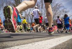 Boston Marathon 2014 in Massachusetts, USA. Stock Photos