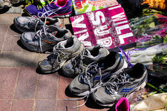 Boston Marathon Memorial Stock Photography