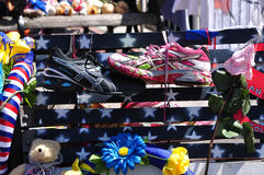 Boston Marathon Memorial Royalty Free Stock Photography