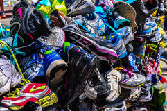 Boston Marathon Memorial Royalty Free Stock Photography