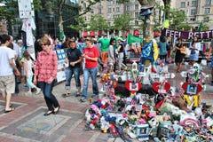Boston Marathon memorial Royalty Free Stock Images
