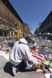 Boston Marathon 2013 Memorial Stock Photos