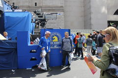 Boston Marathon 2014 Stock Images