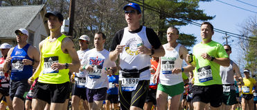 Boston Marathon 2016 Stock Photo