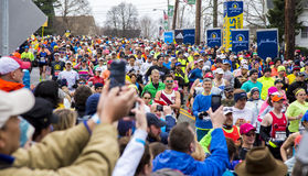 Boston Marathon 2015 Royalty Free Stock Photography