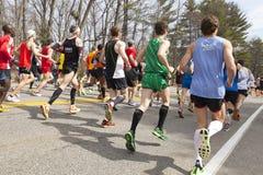 Boston Marathon 2013 royalty free stock photography