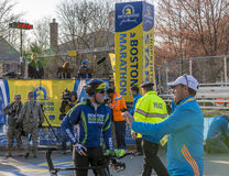 Boston Marathon 2014 Royalty Free Stock Images