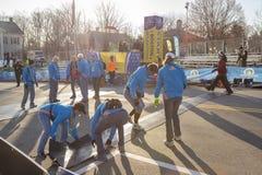 Boston Marathon 2014 Stock Photography
