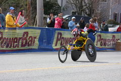 Boston Marathon Wakako Tsuchida Royalty Free Stock Photo
