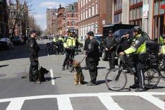 Boston maraton 2014 Royaltyfria Bilder
