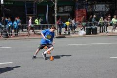 Boston maraton 2014 Arkivbild