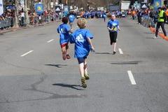 Boston maraton 2014 Arkivfoton