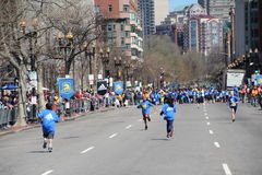 Boston maraton 2014 Fotografering för Bildbyråer