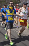 Boston maraton 2014 Royaltyfria Foton