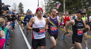 Boston maraton 2015 Royaltyfri Fotografi