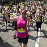 Boston maraton Obraz Royalty Free