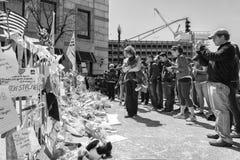 Boston maratonu 2013 bombardowanie Zdjęcia Royalty Free