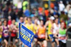 Boston maratonu flaga Zdjęcia Stock