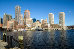 Boston in Massachusettes Royalty Free Stock Photography