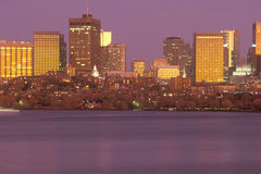Boston, Massachusettes skyline Stock Image