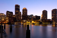 Boston in Massachusetts Royalty Free Stock Images