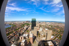 Boston in Massachusetts Stock Image