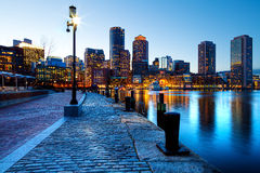 Boston in Massachusetts fotografie stock libere da diritti