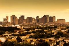 Boston in Massachusetts lizenzfreies stockfoto