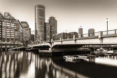 Boston in Massachusetts Stock Images