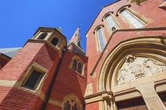 Boston Massachusetts Advent Church Royaltyfri Bild