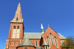 Boston Massachusetts adwentu kościół Zdjęcie Royalty Free
