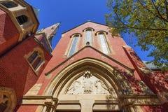 Boston Massachusetts adwentu kościół Zdjęcia Royalty Free
